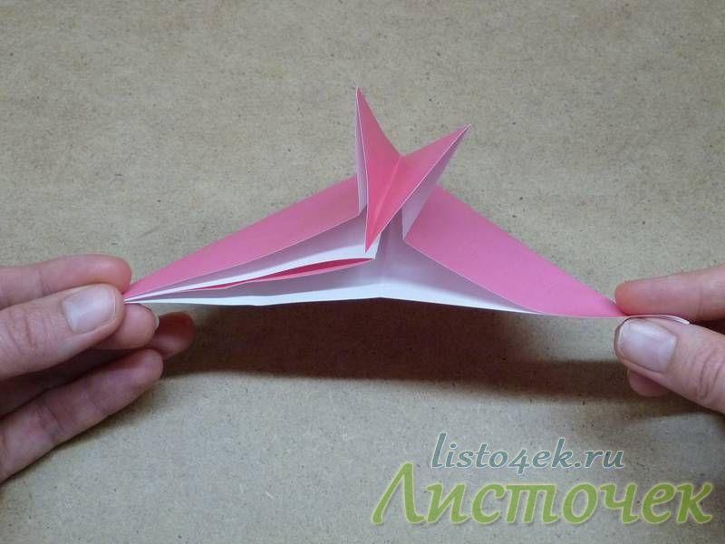 Получилось, что мы большой треугольник разделили на два поменьше