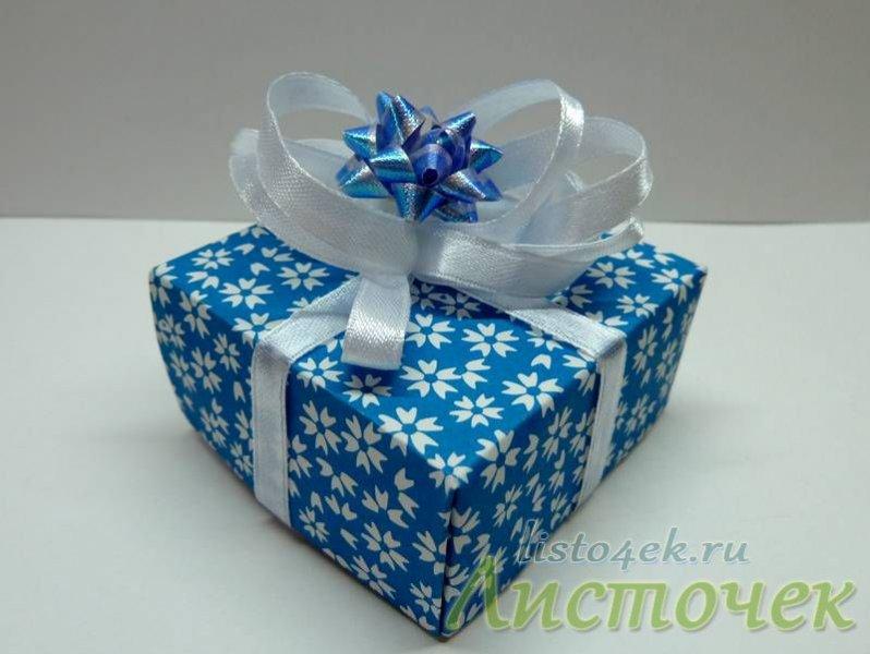 Коробочка из бумаги своими руками