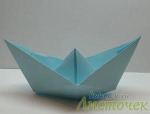 Как сделать кораблик (классический) из бумаги