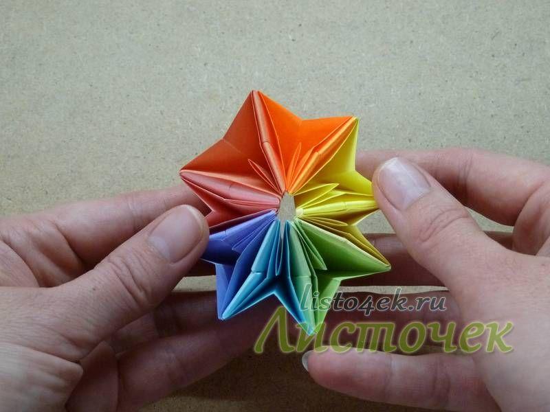 Начинаем аккуратно выворачивать ее и наблюдать как игрушка меняет форму