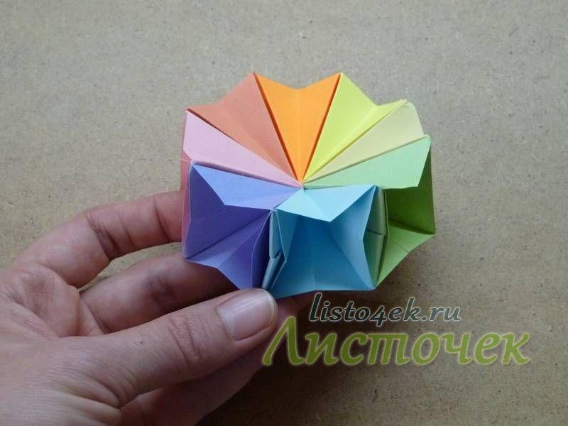 Динамичная игрушка из бумаги