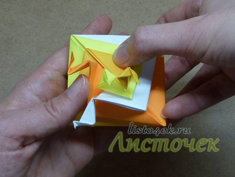 """Загибаем второй """"лепесток"""""""