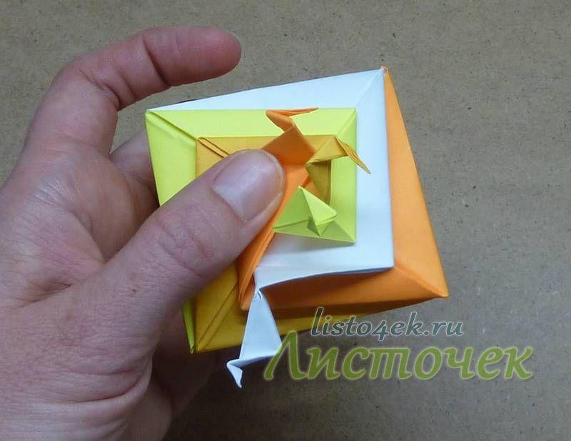 """Загибаем третий """"лепесток"""""""