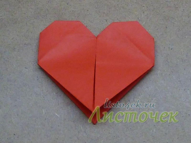 А если сердце вывернуть, то мы увидим вот такую модель