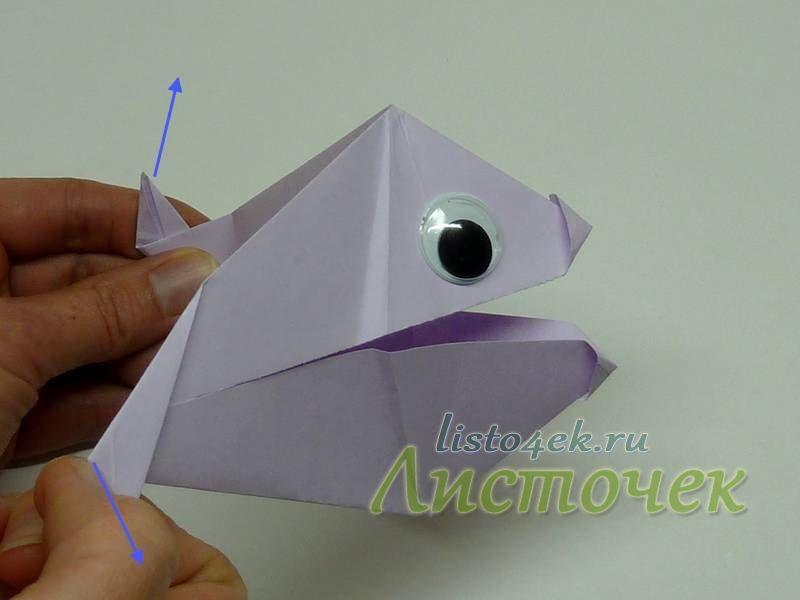 Эта рыбка может открывать рот, если раздвигать хвостовой плавник в разные стороны