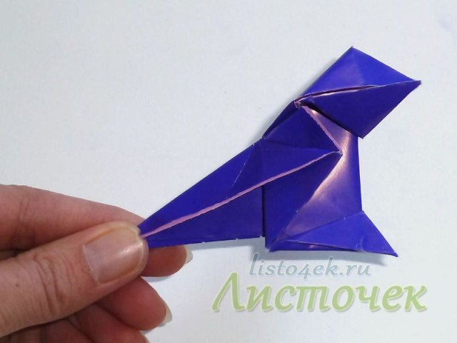 Сжимаем крылья – клюв закрыт