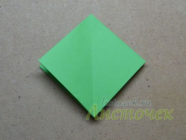 Складываем базовую форму двойной квадрат